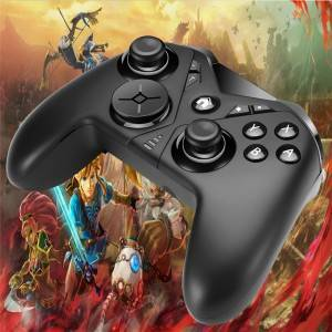 What are the main components of the gamepad?